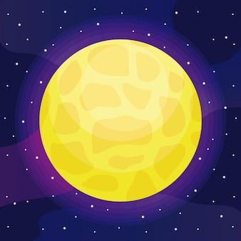 Ícone do universo sol estrela