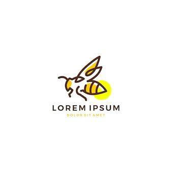 Ícone do vetor do logotipo do vaga-lume