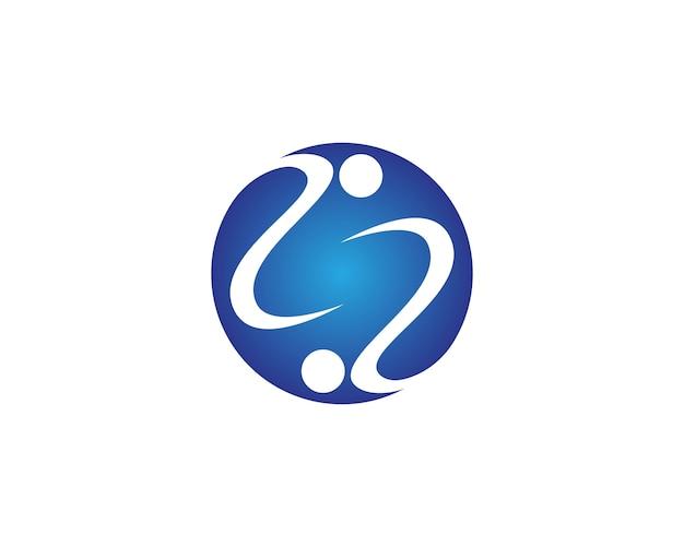 Ícone e símbolo da comunidade humana
