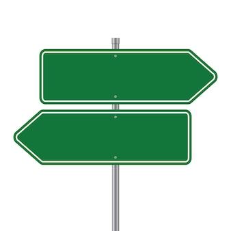 Ícone em branco dos sinais de trânsito. modelo de placas de sinalização rodoviária