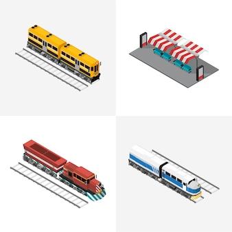 Ícone isolado industrial de negócios de logística no fundo