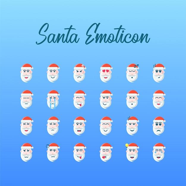Ícone natal emoticon sinterklaas