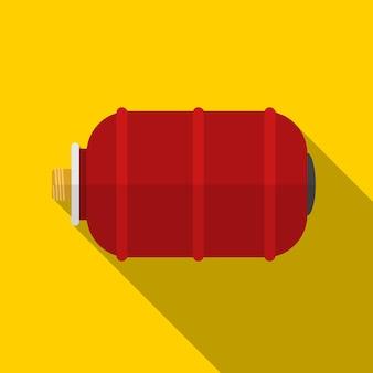 Ícone plano do tanque de água ilustração isolado símbolo de sinal de vetor