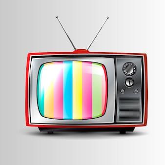 Ícone retrô de tv