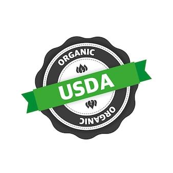 Ícone verde etiqueta do ícone do logotipo símbolo bio eco orgânico produto natural alimentação vegetariana saudável