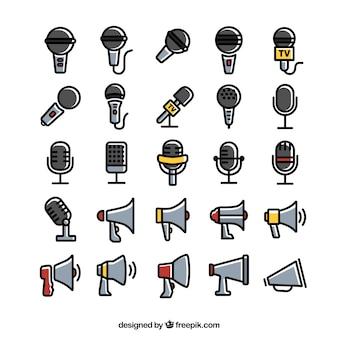Ícones amplificador