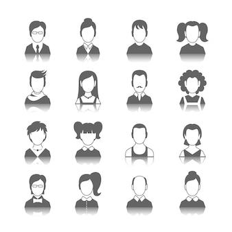 Ícones, avatars