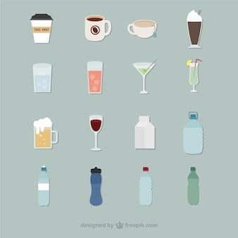 Ícones bebidas