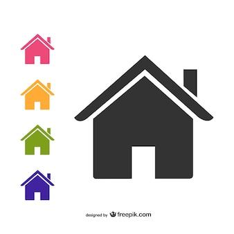 Ícones da casa embalar