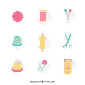 Ícones da costureira