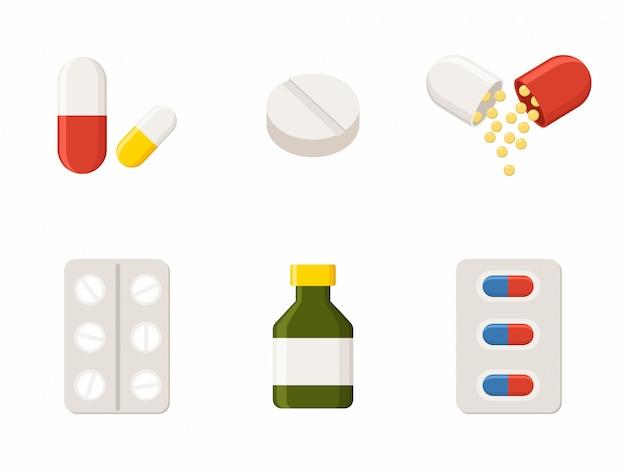 Ícones da medicina