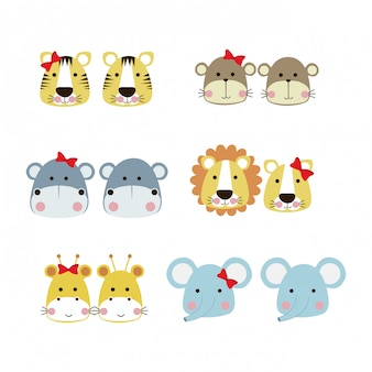 Ícones de animais