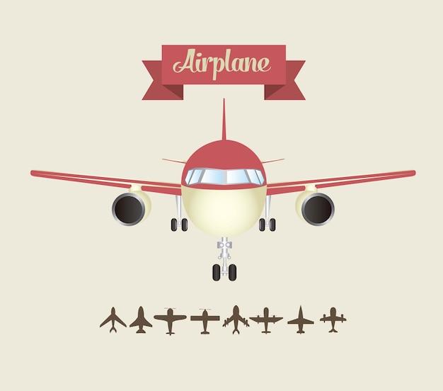 Ícones de avião