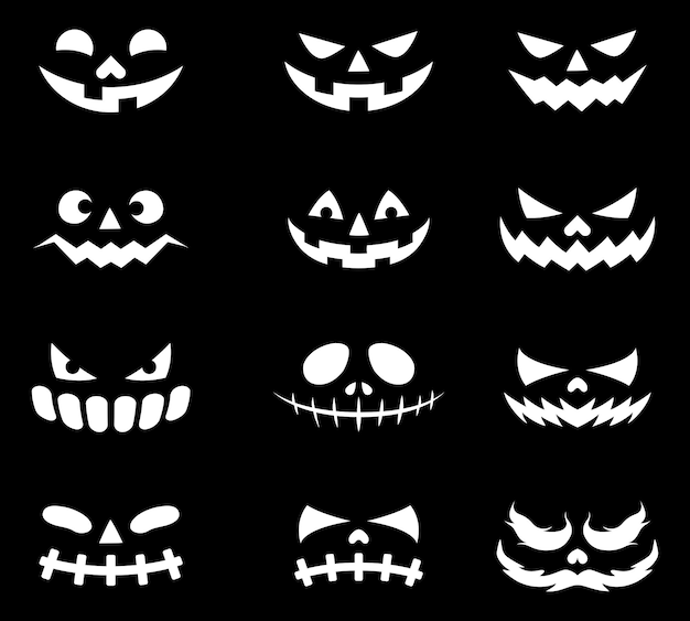 Ícones de cara de demônio
