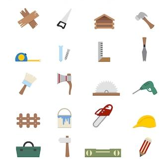 Ícones de carpintaria