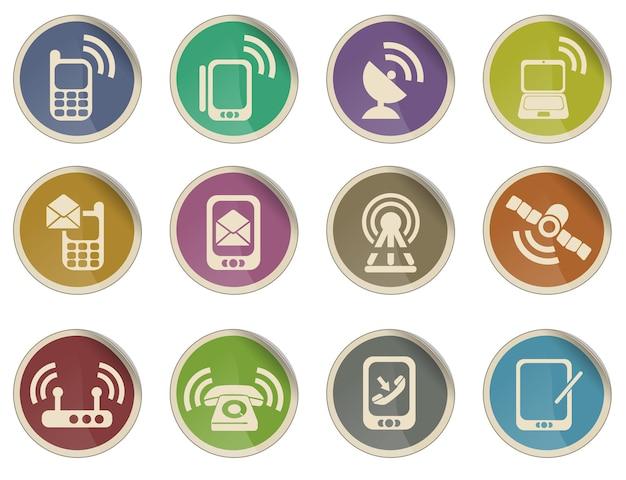 Ícones de celular