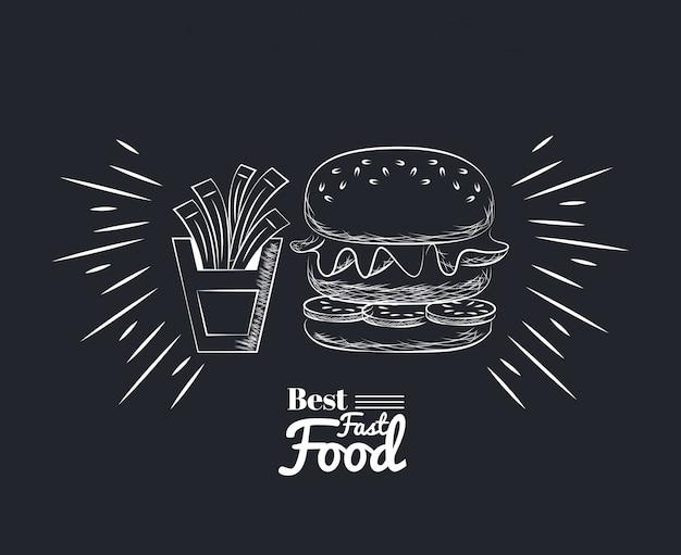Ícones de comida de fato