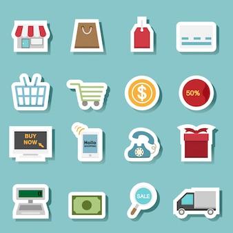 Ícones de compras