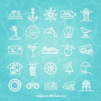 Ícones de cruzeiro
