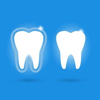 Ícones de dentes