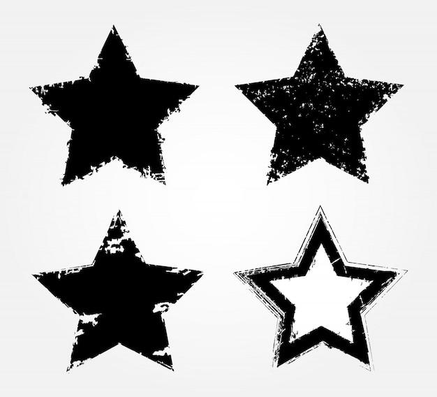 Ícones de estrela negra