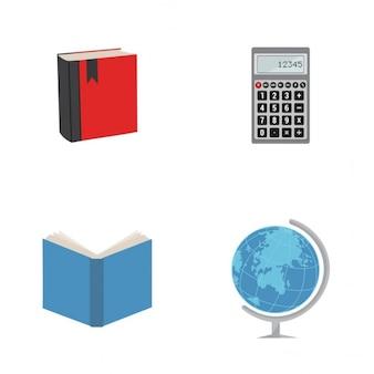 Ícones de estudo