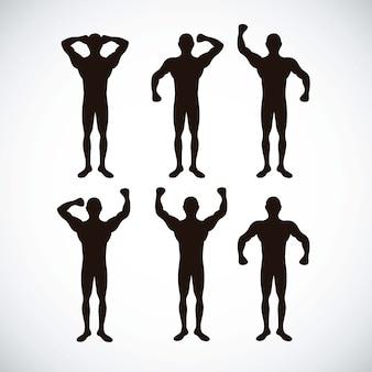 Ícones de fitness