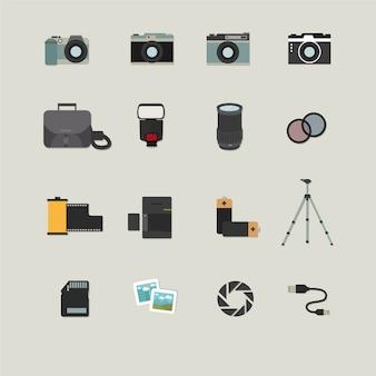 Ícones de fotografia