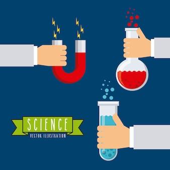 Ícones de laboratório