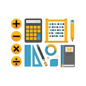 Ícones de matemática