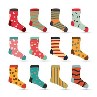Ícones de meias de criança