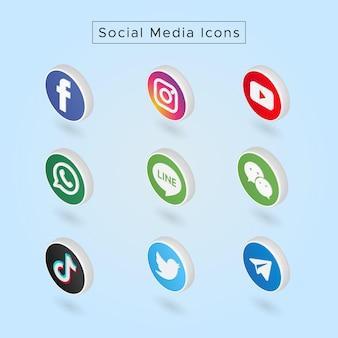 Ícones de mídia social 01
