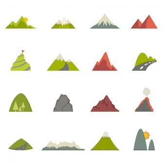 Ícones de montanha