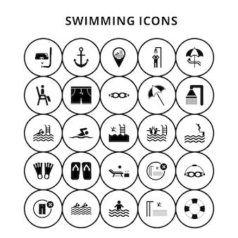 Ícones de natação