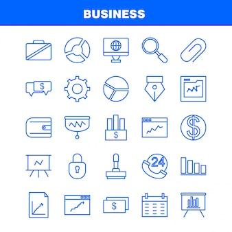 Ícones de negócios