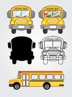 Ícones de ônibus