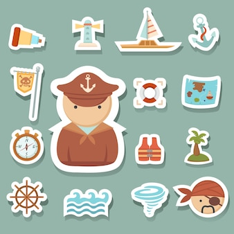 Ícones de piratas