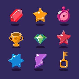 Ícones de recursos do jogo