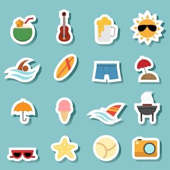 Ícones de verão