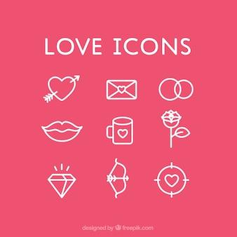Ícones do amor