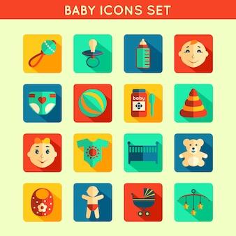Ícones do bebê