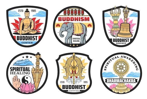 Ícones do budismo, práticas espirituais