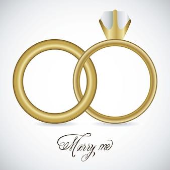 Ícones do casamento