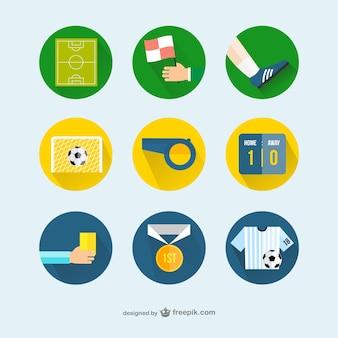 Ícones do futebol
