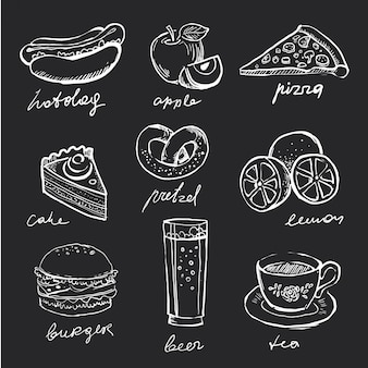 Ícones do menu