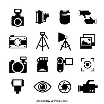 Ícones fotografia