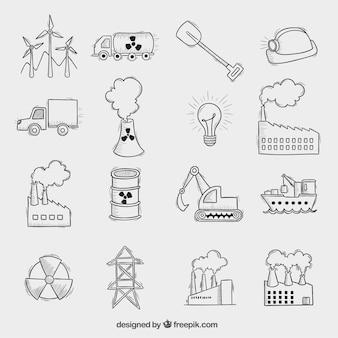 Ícones industriais