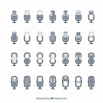 Ícones microfone
