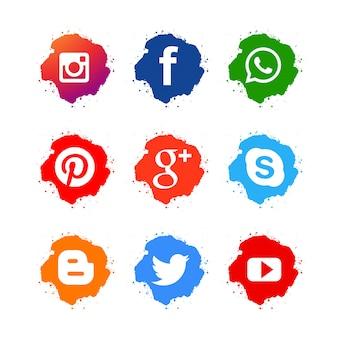Ícones para redes sociais