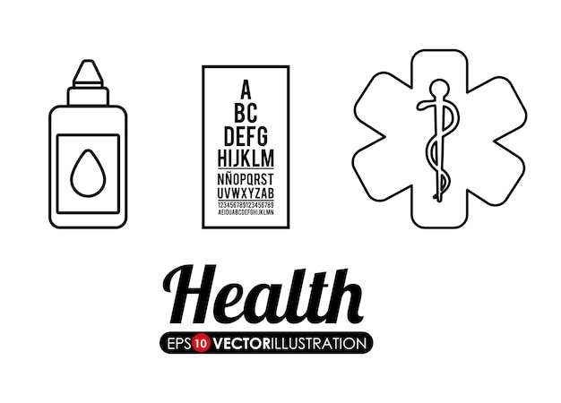 Ícones relacionados com cuidados médicos